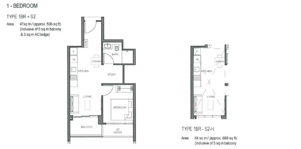 parc-clematis-floor-plan-1-bedroom-type-s2