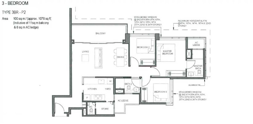 parc-clematis-floor-plan-3-bedroom-type-p2