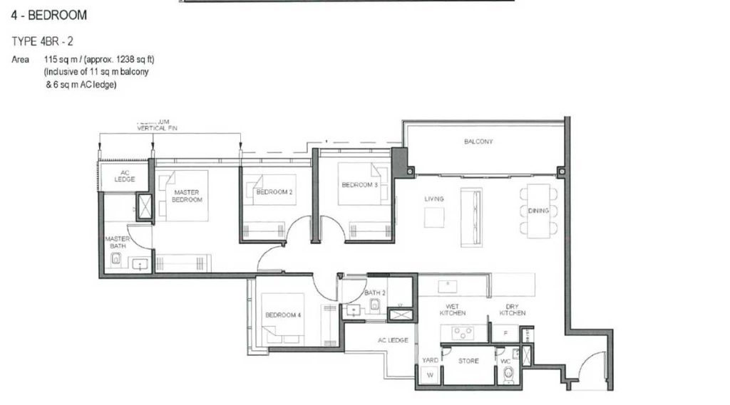 parc-clematis-floor-plan-4-bedroom-type-2