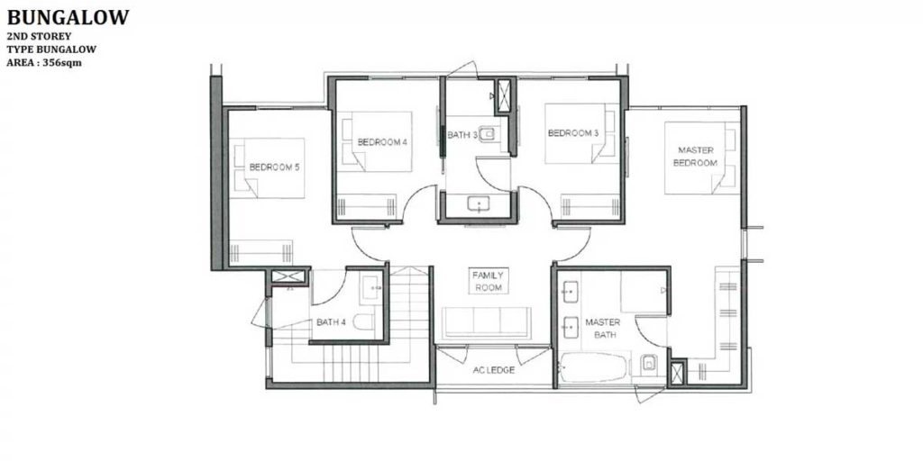 parc-clematis-floor-plan-Bunglow-2nd-storey